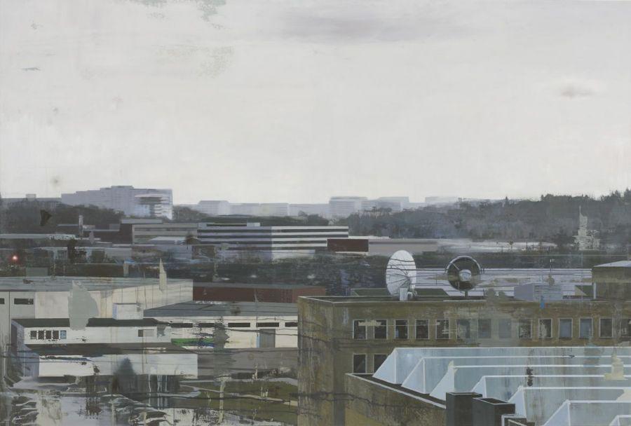 """Iakttagelser / Observations"" 135 x 200 cm"