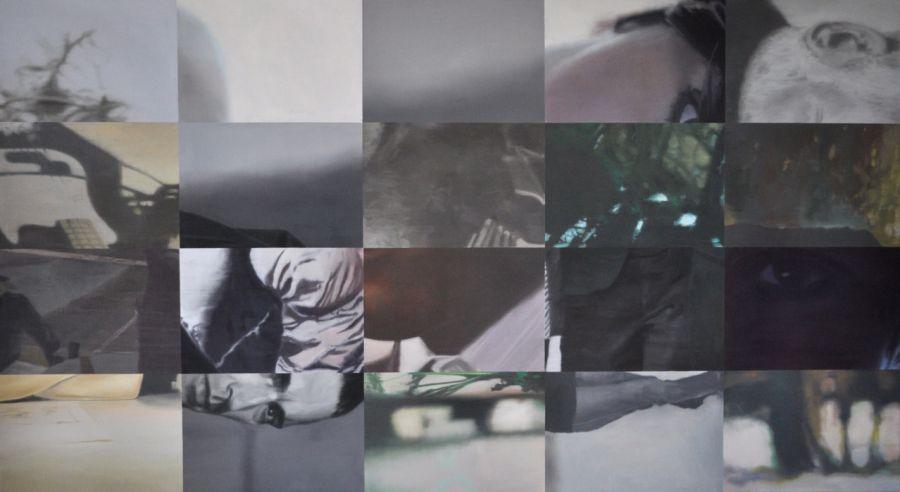 """""""Elle-desert"""" 110 x 200 cm"""