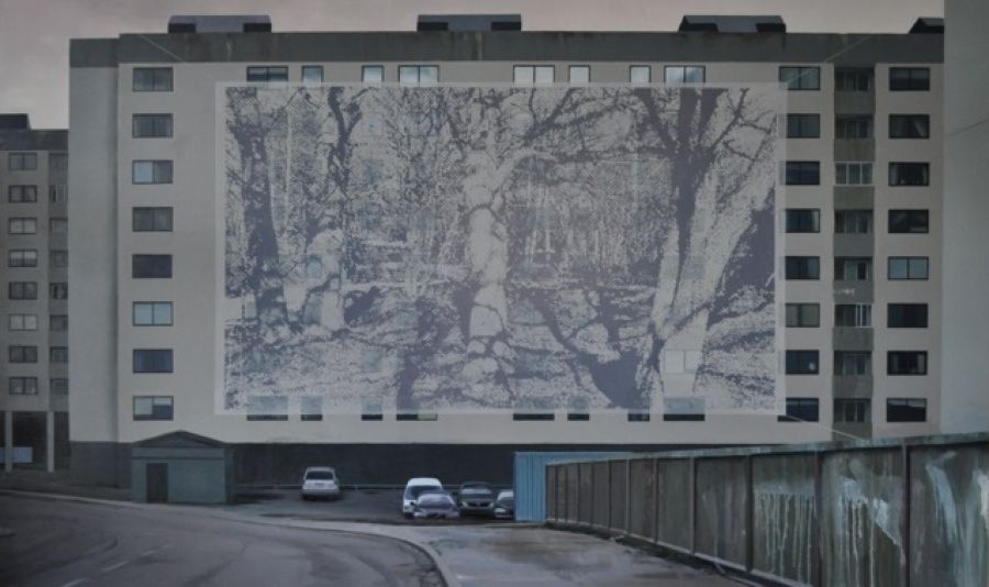 """Ekbacken"" 120 x 200 cm"