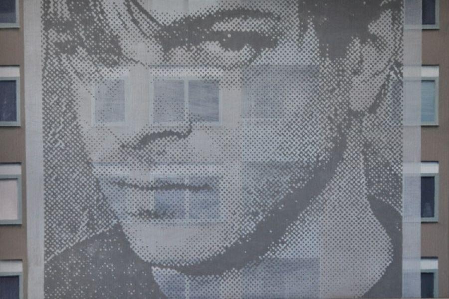 """""""Face-ad II"""" 50 x 75 cm"""