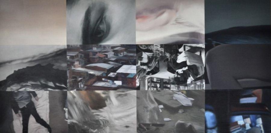 """""""TELLus"""" 110 x 220 cm"""
